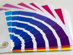 design and print swatches case study