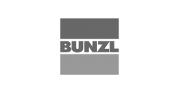 Bunzl logo - who we've worked with