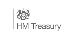 HM Treasury logo - who we've worked with