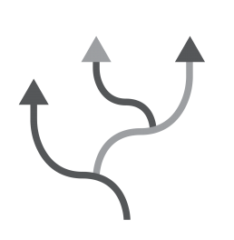 distribution arrows